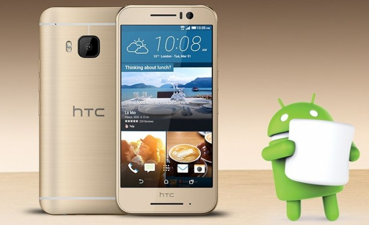 HTC one s9 android