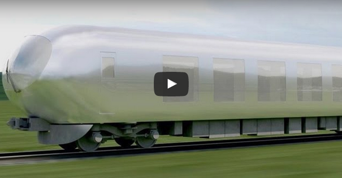 World First Invisible train, Invisible Train Speed is 580KM, tech news