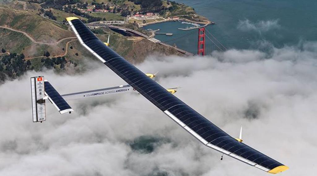 Solar Impulse 2 Successfully Landed at california