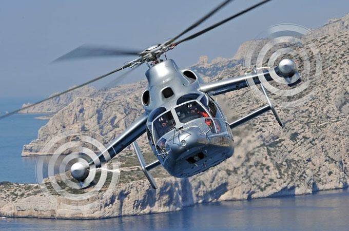 Airbus Eurocopter X3 helipcopter speed