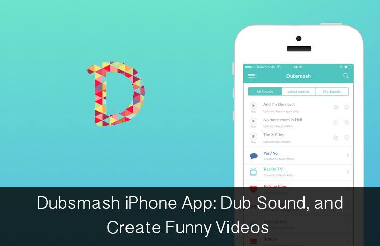 Dubsmash-iPhone
