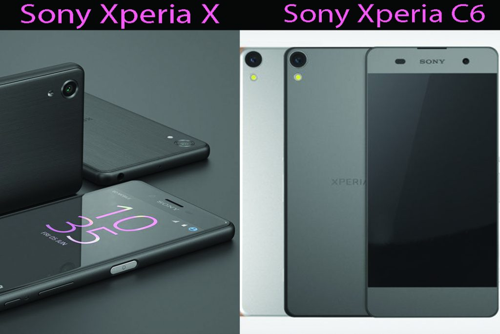 Upcoming Sony New Phones – Sony Xperia X & Xperia Ultra C6