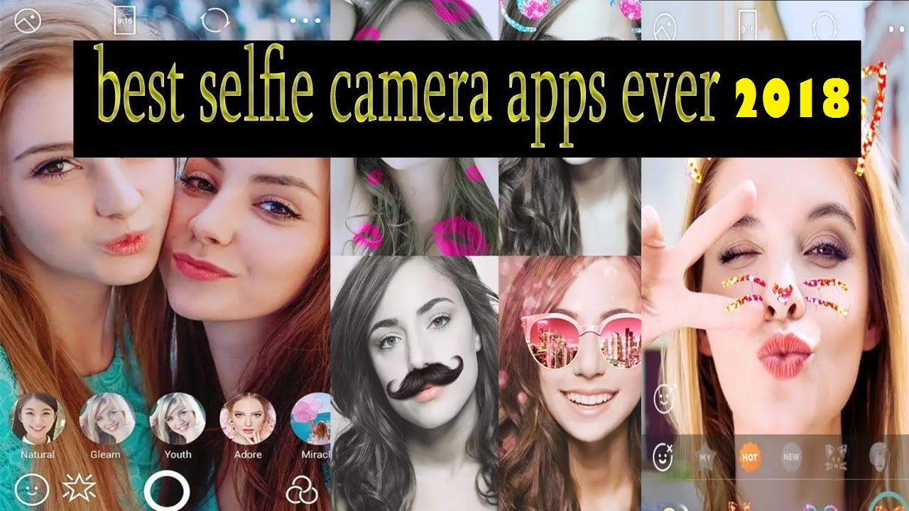 best Camera apps for selfie