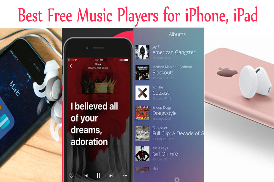 Top Best Music Players for iPhone Free:Change Default Music Player