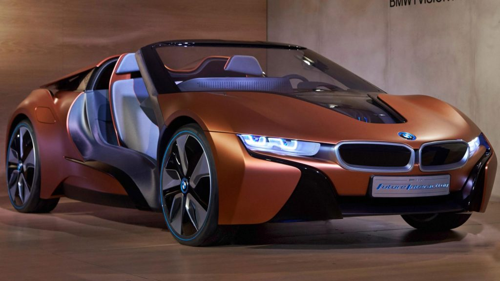 BMW i8Roadster