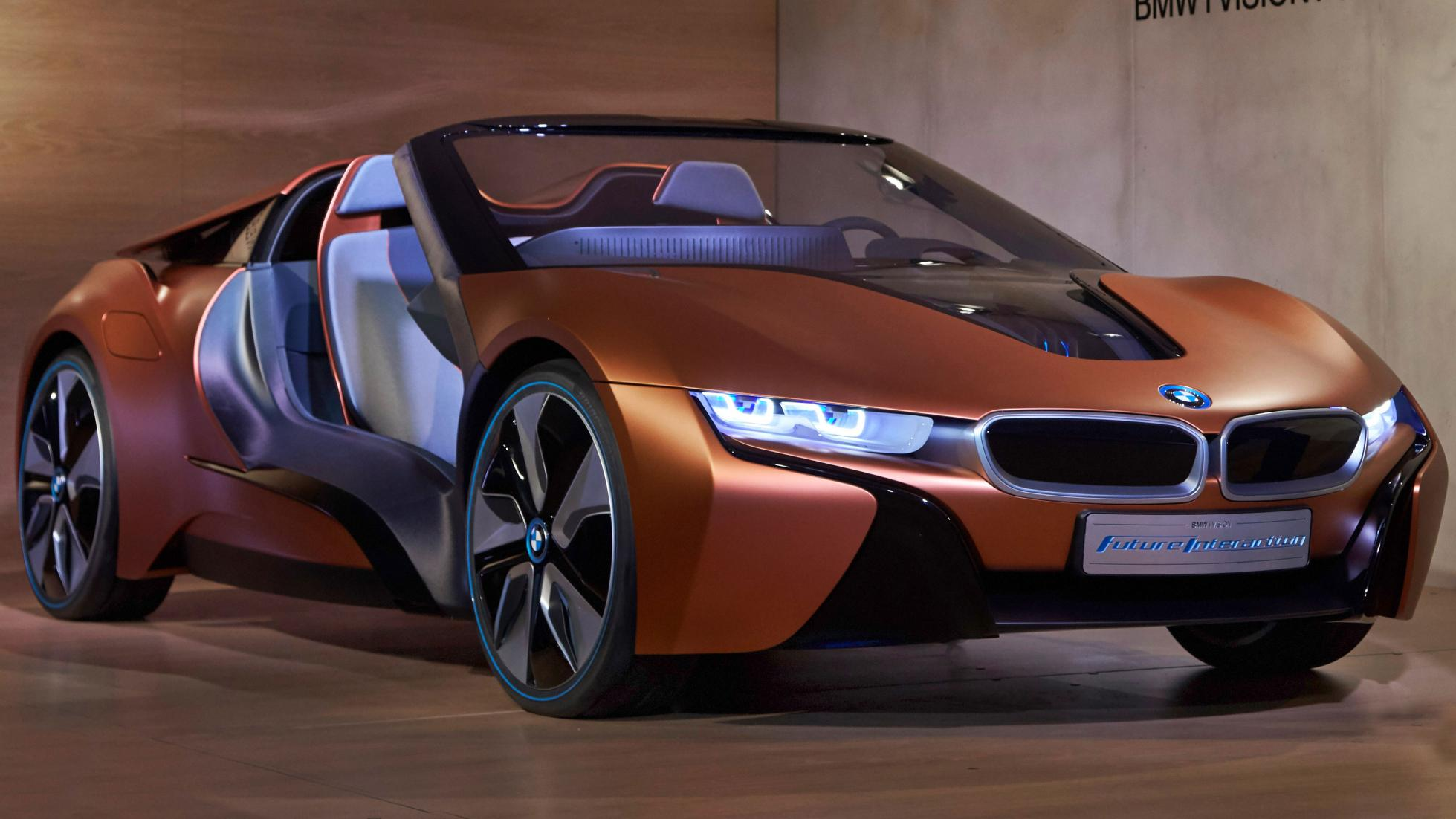 new car launches bmwBMW Upcoming Car concept  BMW i8Roadster BMW iNext info