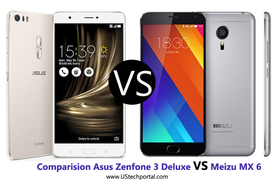 Comparision of Asus Zenfone 3 Deluxe VS Meizu MX 6