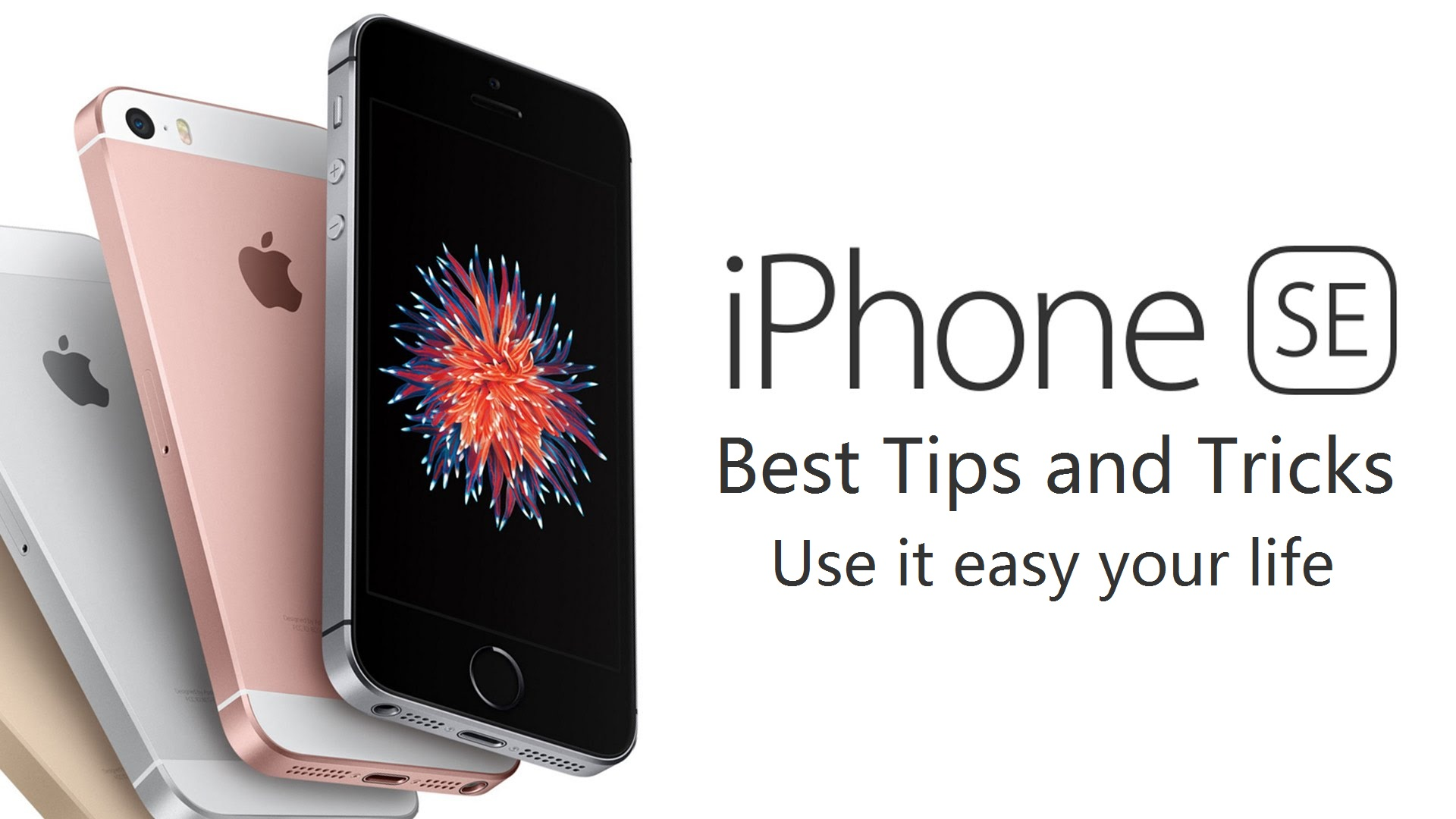 iphone SE best trick:Use it easy your life.