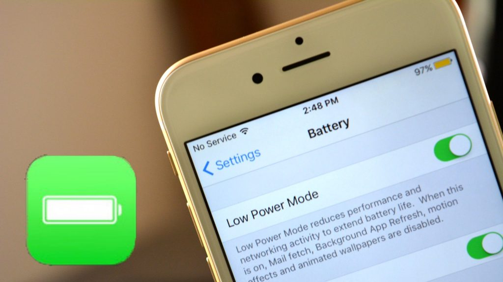 How to activate Low power mode
