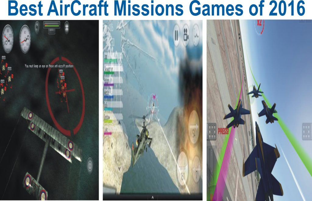Best Aircraft Games For Android 2017