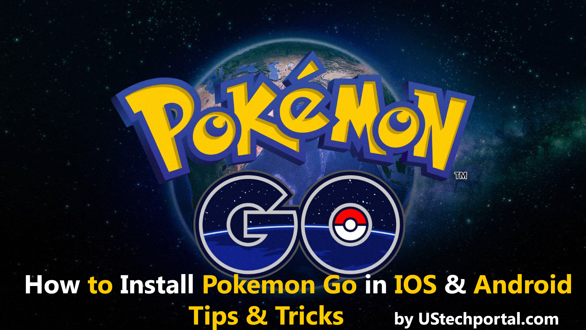 How to Install Pokemon Go in Android and IOS in India & other countryies (TRICK)