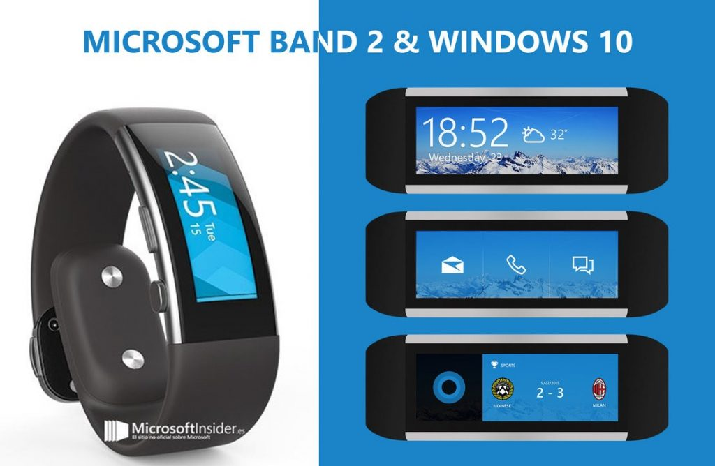 Microsoft Band 2 connectivity