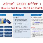 How to Get Free 9GB Airtel DATA