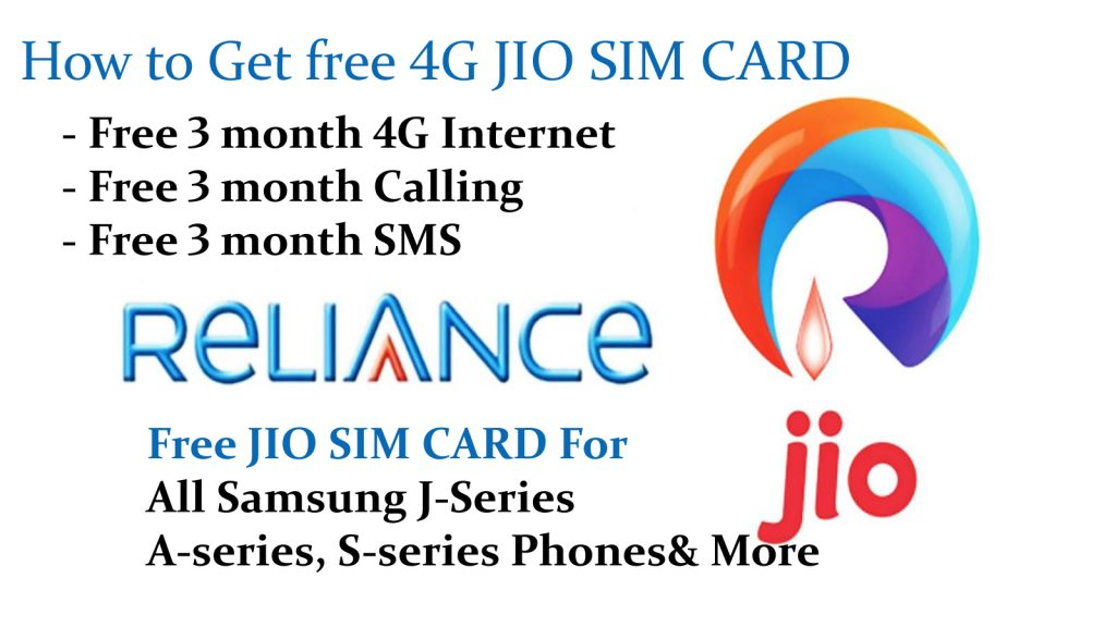 How to get Free Jio SIM for Samsung galaxy j2,j5,j7 & all 2016 Edition Phones