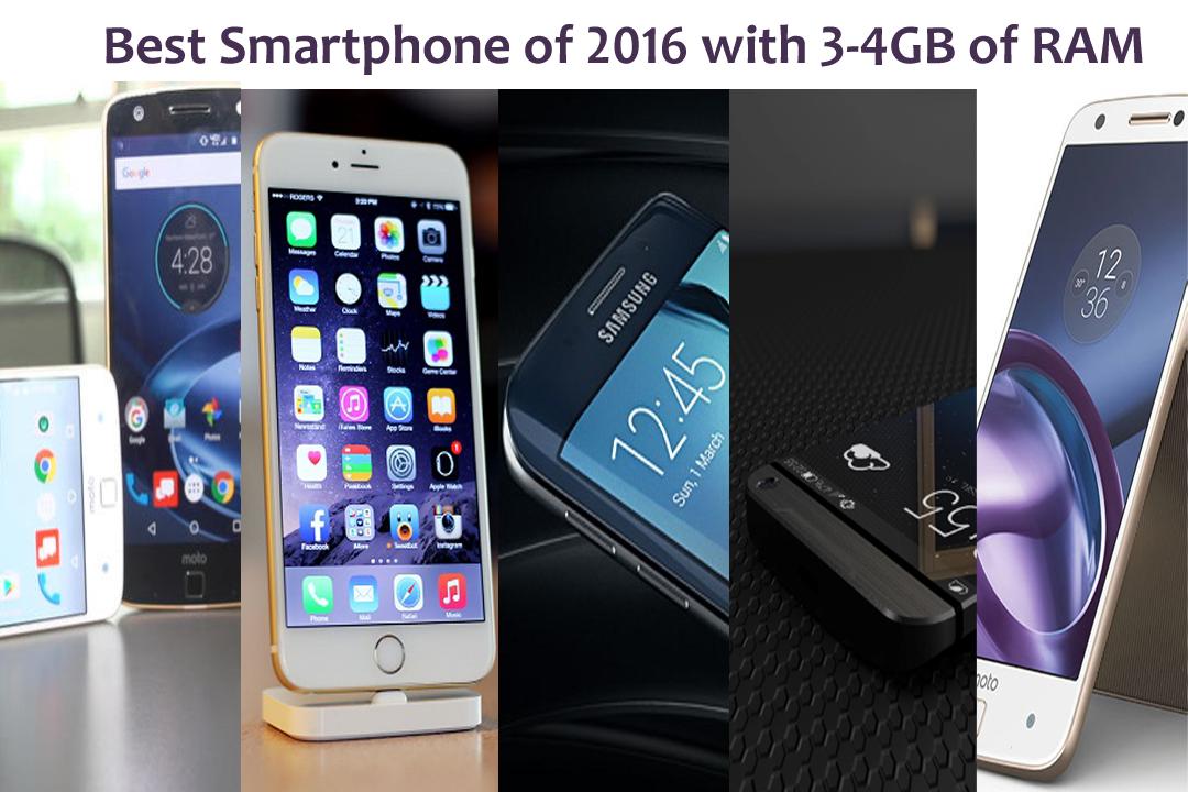 Best Smartphone of 2017 with 3-4 of RAM & Best Camera Smartphones