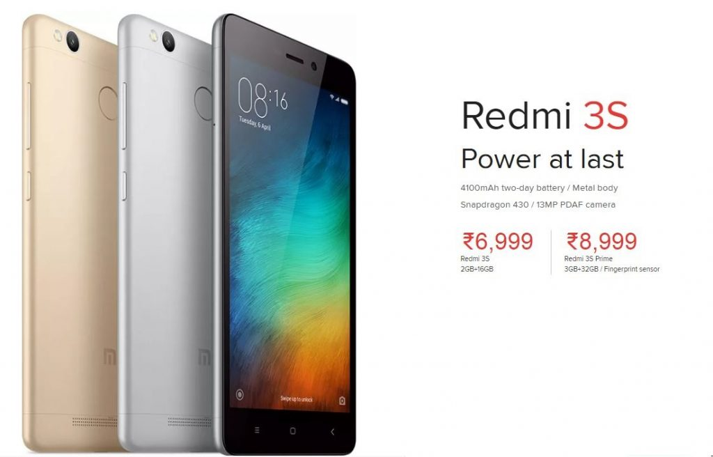 redmi 3s gold - silver-dark grey
