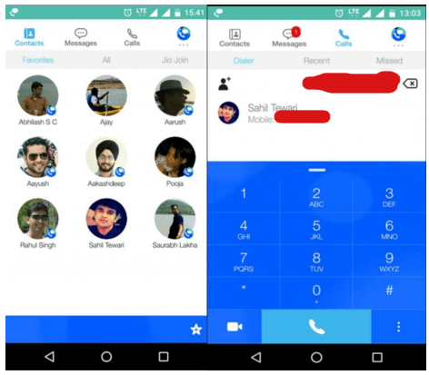 How to jio join calling