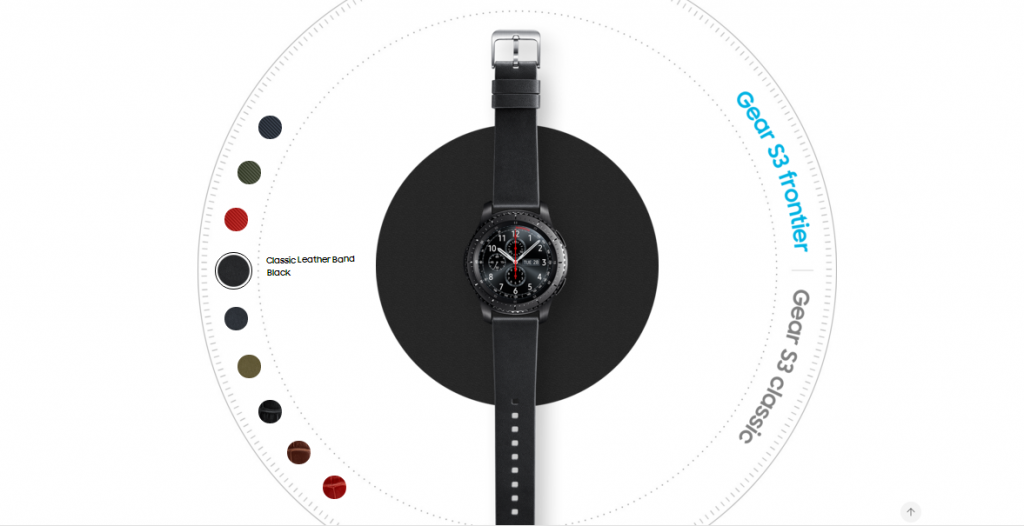 samsung gear s3 classic review colours