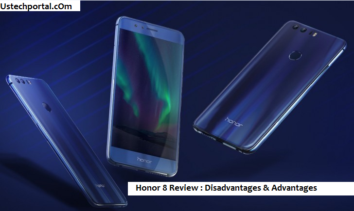 honor 8 blue