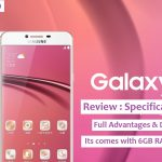 samsung galaxy c9 review rose gold