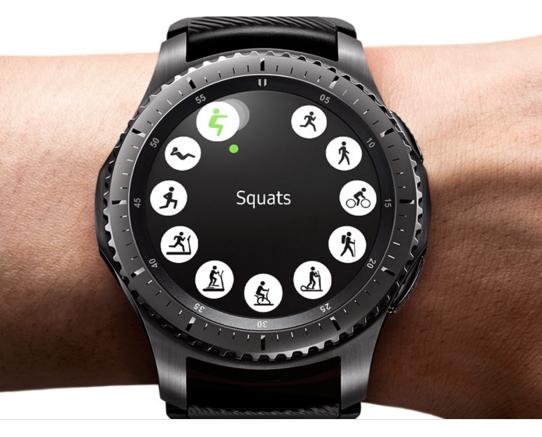 samsung gear s3 classic heart tracker-fitness tracker