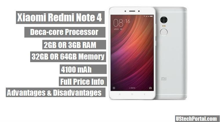 Xiaomi Redmi Note 4 Review : Advantages/Pros | Disadvantages/Cons