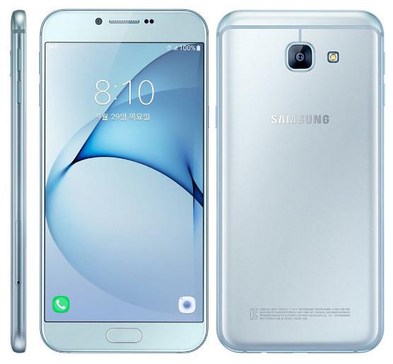 samsung Galaxy A8 (2016) Blue , Design