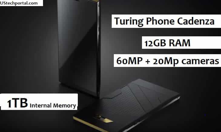 Turing Phone Cadenza black