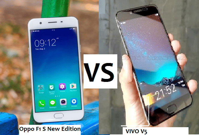 Vivo v5 vs oppo f1s new edition