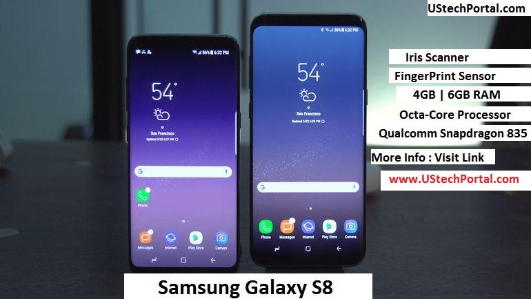 samsung galaxy s8 vs samsung galaxy s8+