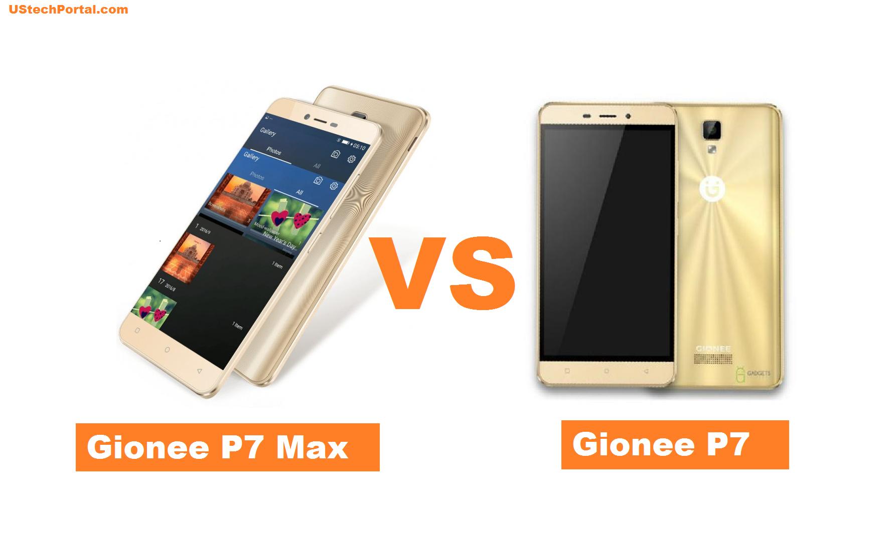 Gionee p7 max VS gionee p7