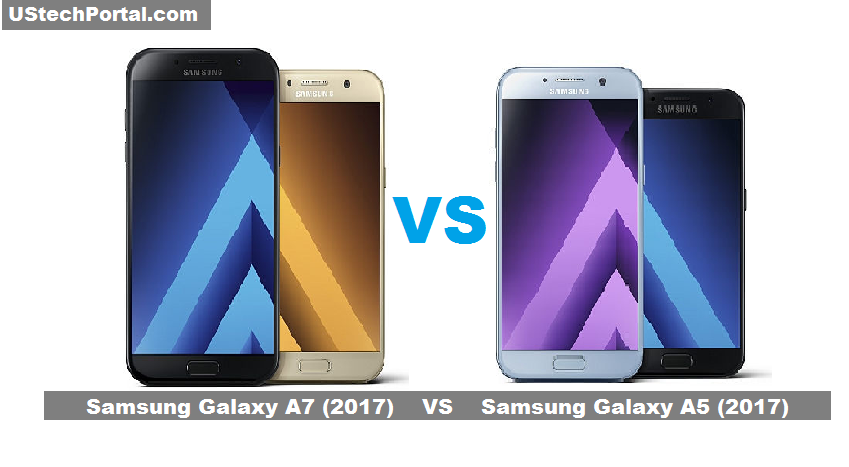 Samsung Galaxy A7 (2017) VS Samsung Galaxy A5 (2017) : Review