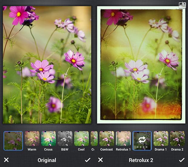 Snapseed camera app
