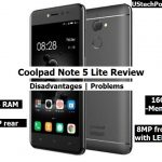 Coolpad Note 5 lite features