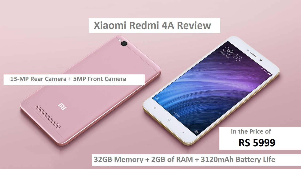 Xiaomi-Redmi-4A review-features