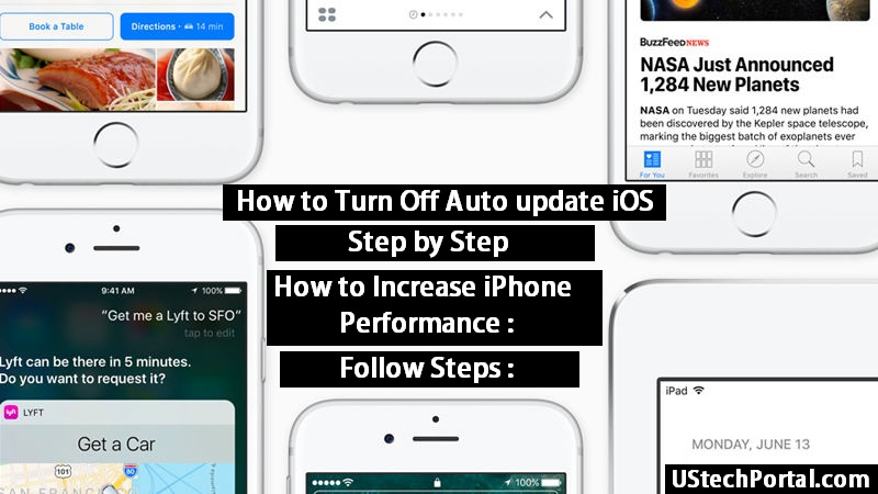 How to Turn Off Auto update iOS : Step By Step setting in iOS 9.3 OR 10.3