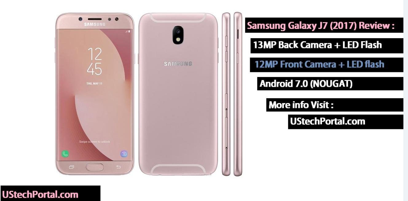 Samsung galaxy J7 2017 edition pink