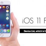 ios-11-features-Device List, which is Compatible for iOS 11