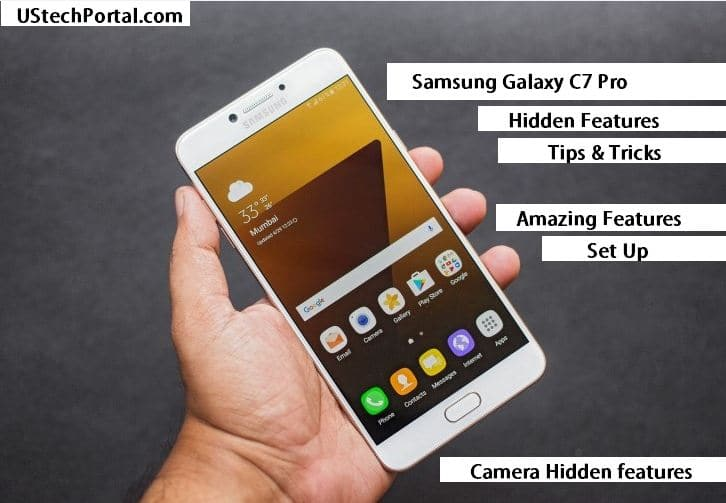Samsung Galaxy C7 Pro Hidden features | Tips & Tricks | UI Features