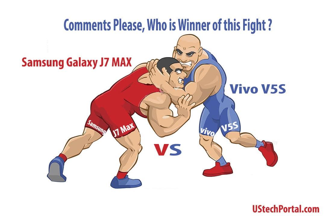 Samsung Galaxy J7 Max VS Vivo V5S