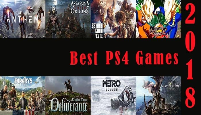 Best Games for PS4 of 2019 in USA | Best Collection of Games