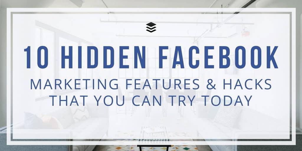 Facebook Business Hacks
