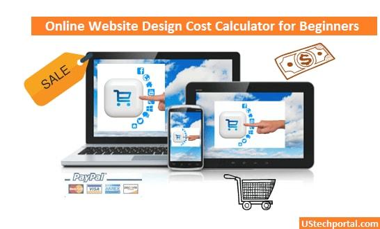 Online Website Design Cost Calculator for Beginners
