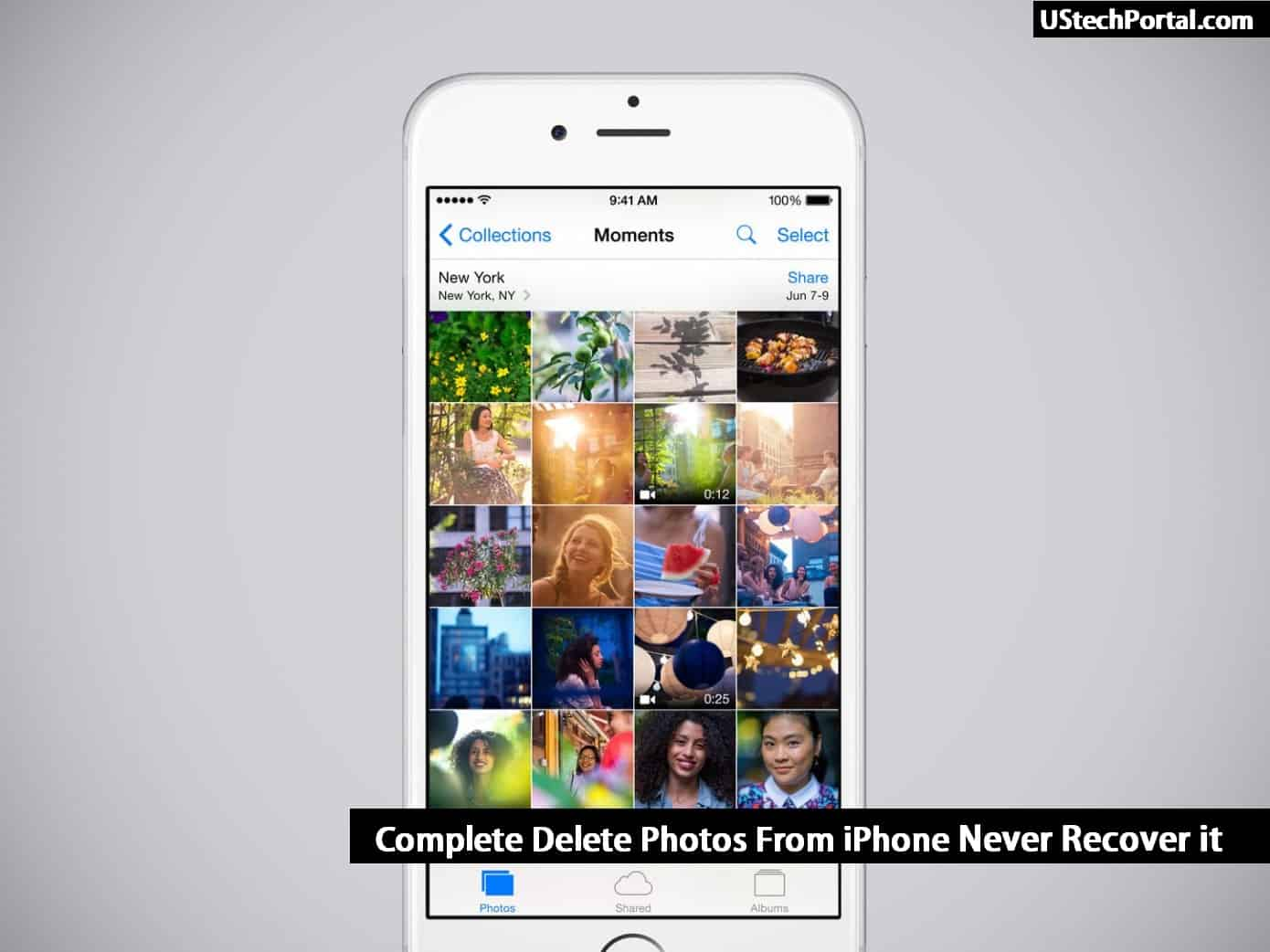 3 Ways To Complete Delete Photos From iPhone
