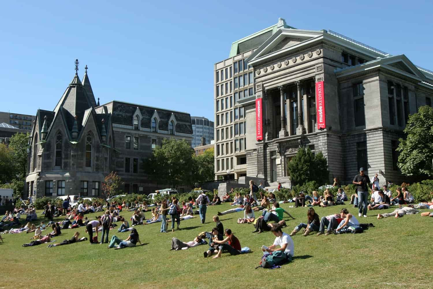 What is the acceptance rate and ranking of McGill University?