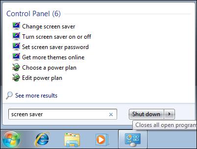 Windows 7 Screen saver
