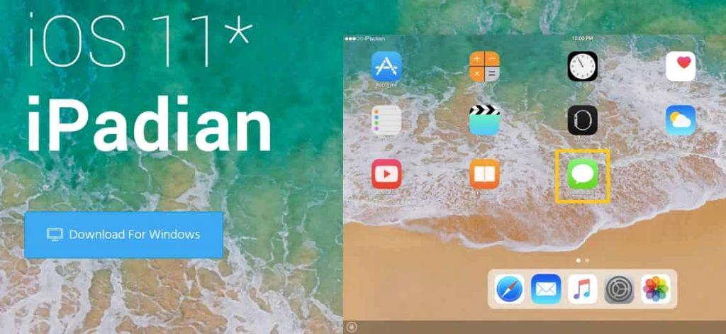 iMessage on Windows Using a Free Emulatoripadian