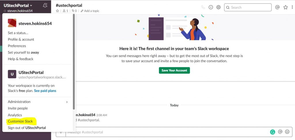 add emoji on slack