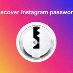 Recover Instagram account password