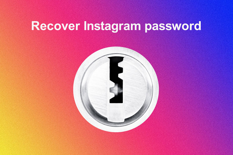 Recover Instagram account password